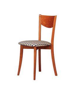 251, Fauteuil, avec siège circulaire, pour salle à manger