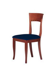 C17, Simple chaise en bois massif, pour les environnements de contrat