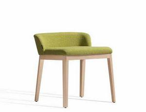 Concord 520AM, Chaise en bois avec dossier bas