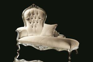 Carol velours, Méridienne, style luxueux classique
