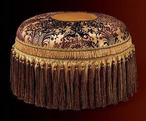 Albina pouf, Luxury pouf ronde classique