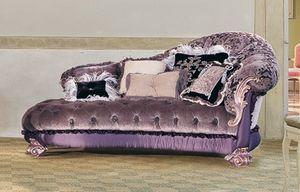 Sissy, Chaise longue dans le style de luxe classique, pour les salons riches
