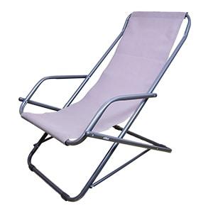 Oscillante transat chilienne, Chaise longue pliante hydrofuge