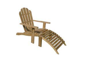 Riviera 502, Chaise Adirondack est une chaise simple et confortable en bois pour une utilisation en extérieur