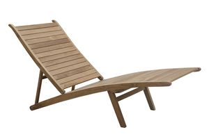 Savana 0512, Chaise longue ajustable avec repose-jambes