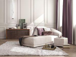 Bilbao chaise longue, Luxe chaise longue, le style classique contemporain