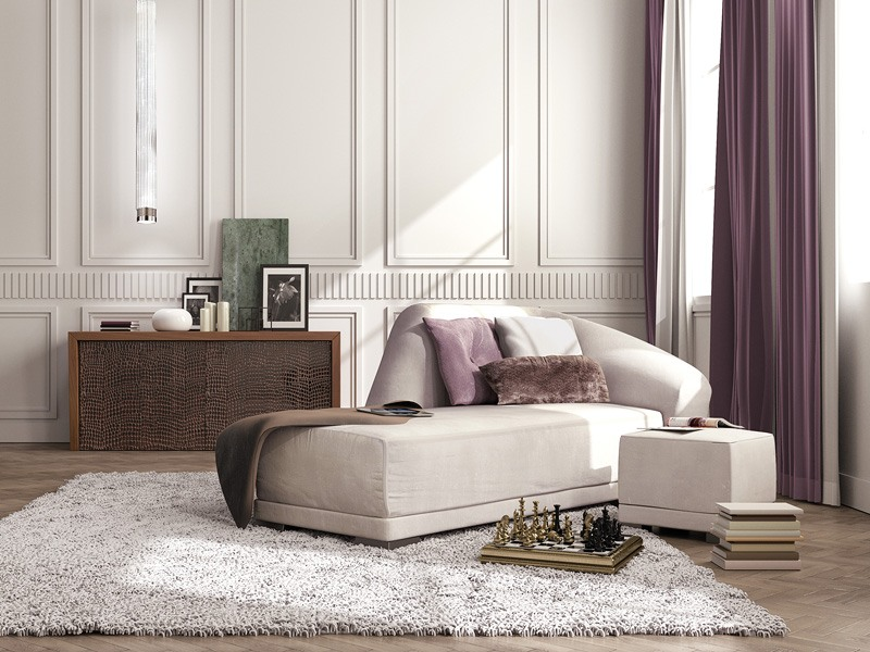 luxe chaise longue le style classique contemporain. Black Bedroom Furniture Sets. Home Design Ideas