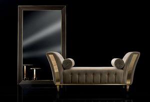 DIAMANTE chaise longue, Chaise longue rembourrée pour le salon