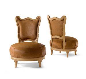 5804 Gattone, Chaise longue avec siège rond