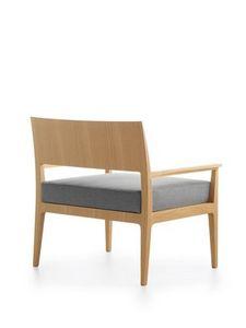 Anna XXL, Chaise rembourrée avec siège large