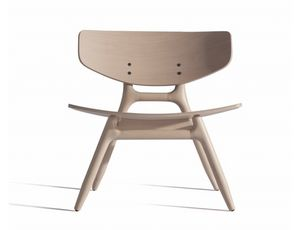 Eco 501M, Chaise longue en bois