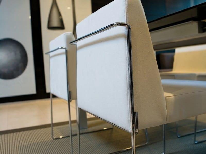 Kalida 603C, Chaise confortable avec large siège