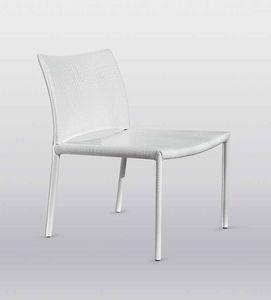 Kometa, Chaise confortable, avec une large assise, idéal pour les zones d'attente