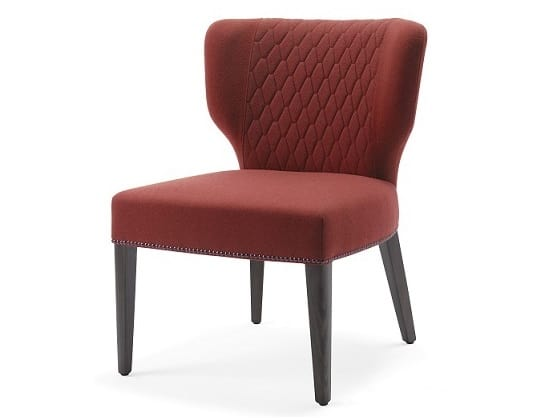 Morena-SL, Chaise pour hôtels, équipée d'un large siège