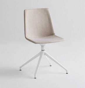 Akami U, Chaise avec base pivotante