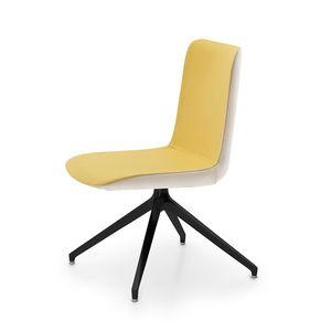 Angy, Chaise avec base personnalisable