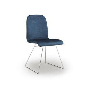 Ciao-M, Chaise en métal avec piètement luge