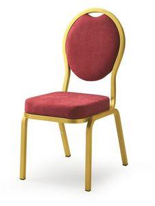 Como 65/4, Chaise pour les salles de banquet, de conférences et réunions dans les hôtels