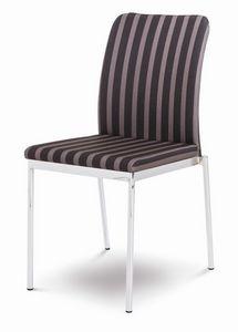 Evosa 08/2, Chaise moderne pour la cuisine, chaise empilable pour bar