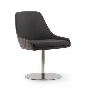 JO CHAIR 058 S F, Chaise avec base de disque