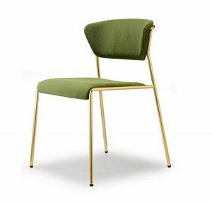 Lisa, Chaise inspirée des années 50 et 60