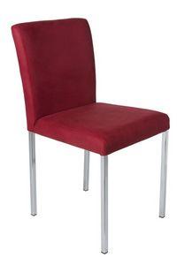 Vidor, Chaise de doublure amovible avec des jambes en métal pour les bars