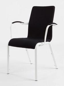 Mendola 07/1A, Chaise rembourrée, avec la technologie ProBax, pour la conférence