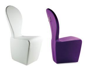 Mondrian chaise, Chaise de fer entièrement recouvert de polyuréthane