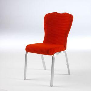 Orvia 12/2T, Chaise commode et pratique pour la conférence, peut être équipé de la tablette
