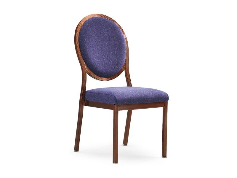 Salon 95/10, Chaise rembourrée en bois avec système de liaison