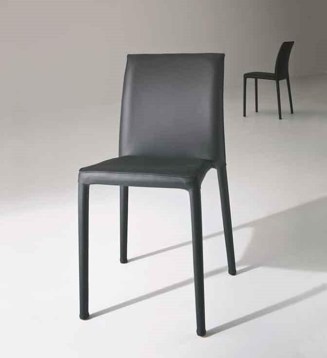 Venezia, Chaise en métal empilable à usage résidentiel et contrat