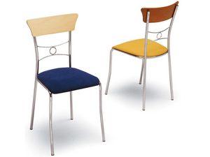 425, Chaise de salle à manger, simple et élégant, décoré de retour