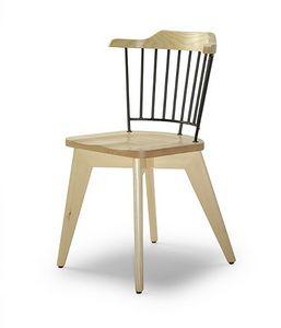 CG 958081, Chaise en bois et métal