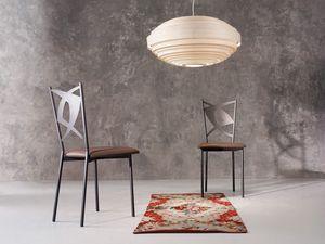 Rondine, Chaise en métal, des sièges en cuir, des bars et des restaurants