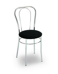 Sara, Chaise pour bars et glaciers, assise ronde