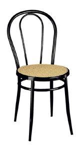 SE 020, Simples chaises en métal incurvé, pour la cuisine