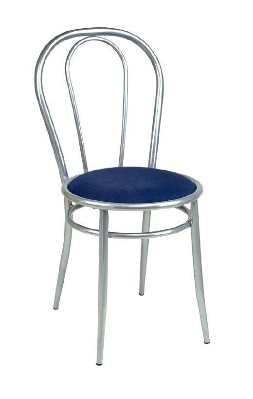 SE 025, Chaise en métal de base, assise rembourrée, pour des collations