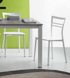 Step, Chaise de cuisine en métal
