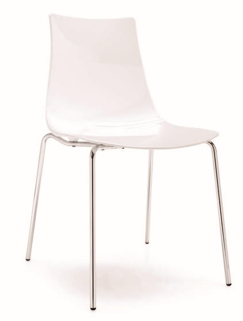 SE 2270, Chaise avec dossier en plastique, différentes couleurs, pour le restaurant