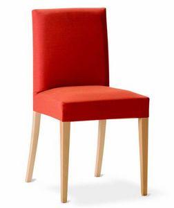 243 Relax, Chaise de salle à manger avec rembourrage amovible