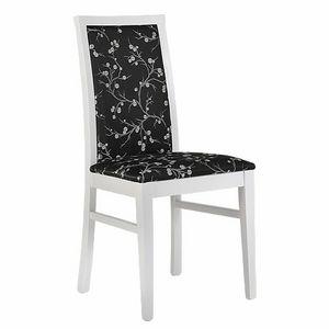 315 B, Chaise rembourrée en bois de hêtre