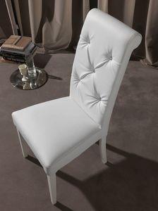 Art. 124 Billionaire, Chaise élégante pour salle à manger, le dossier touffeté