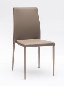Art. 220 Naked, Chaise rembourrée confortable, avec des coutures élégantes