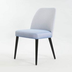 BS498S - Chaise, Chaise rembourrée moderne