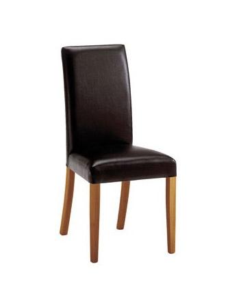 C03, Chaise en bois moderne, rembourré, pour les salles de réunion