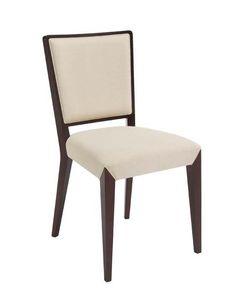 C37, Chaise en bois, assise rembourrée et à l'arrière, pour le contrat et l'usage domestique