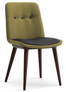 Cass-S, Chaise rembourrée pour hôtels et restaurants
