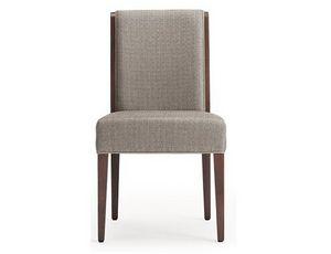 Cleo-S, Chaise rembourrée pour hôtel et restaurant
