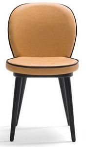 Dena-S, Chaise de restaurant avec pieds en bois