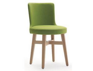 Ebe-S, Chaise moderne pour restaurants et hôtels
